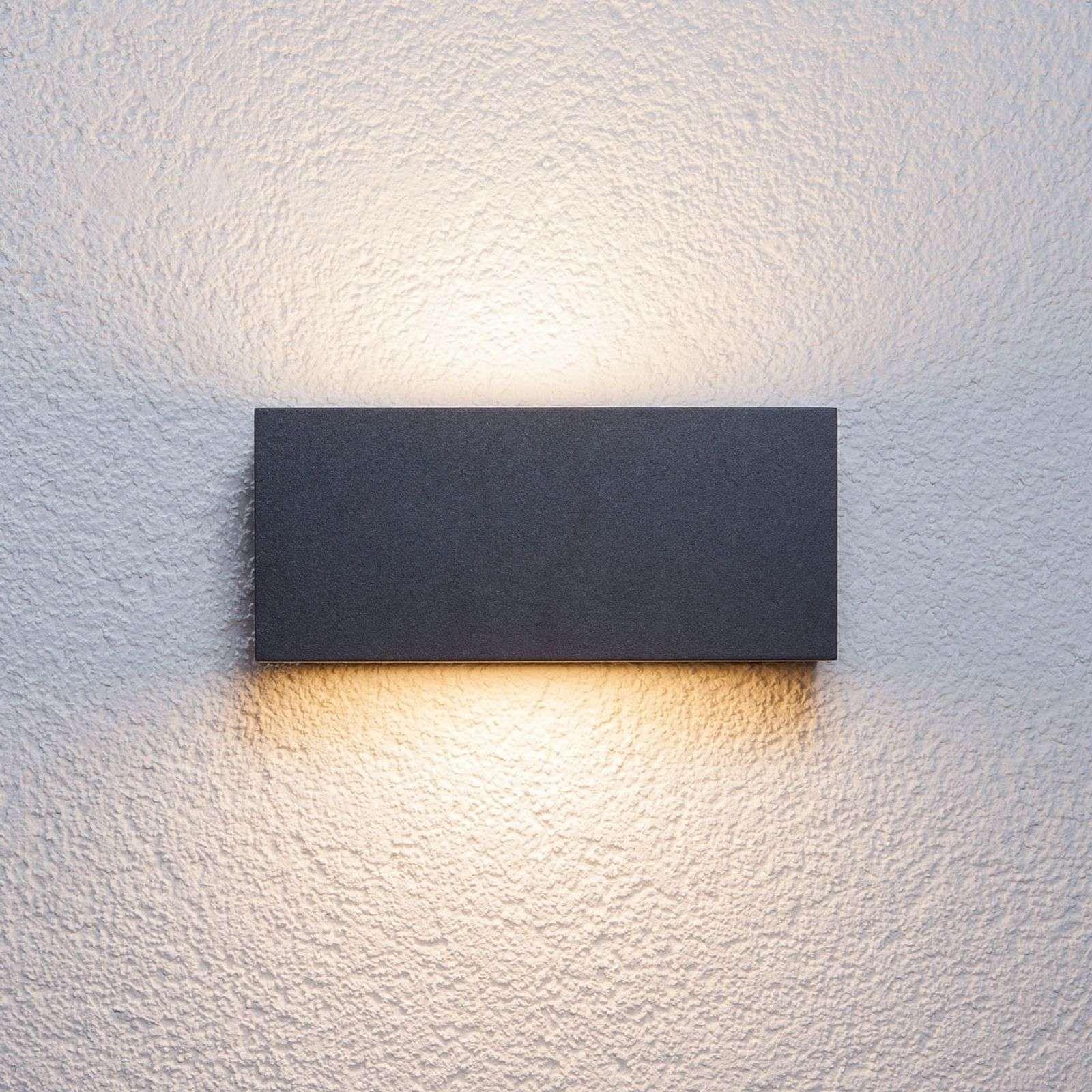 Außenbeleuchtung Hauswand Led Außenlampe Mit