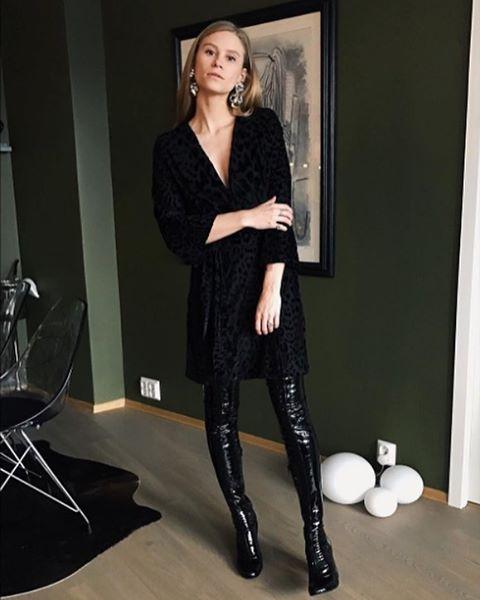 Fwss black dress