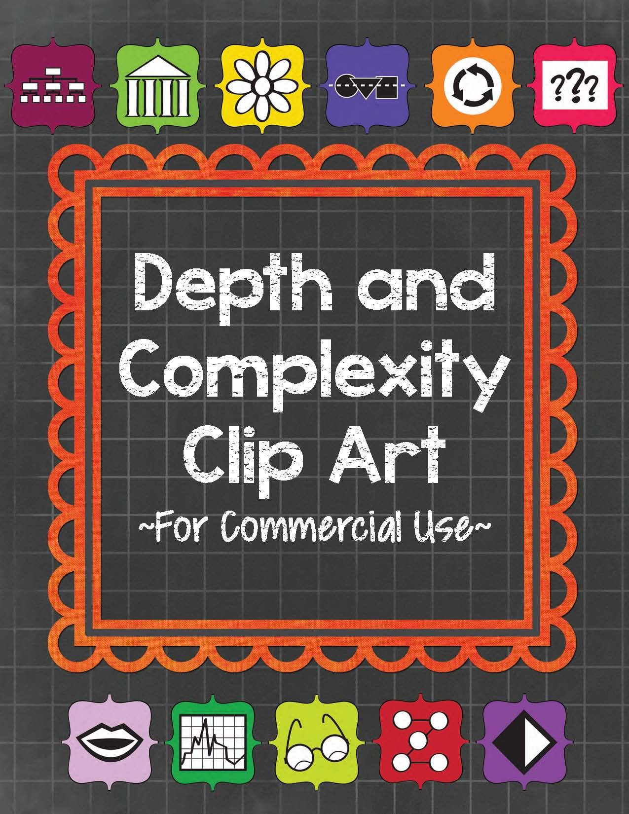 Depth And Complexity Clip Art For Commercial Use 44 300