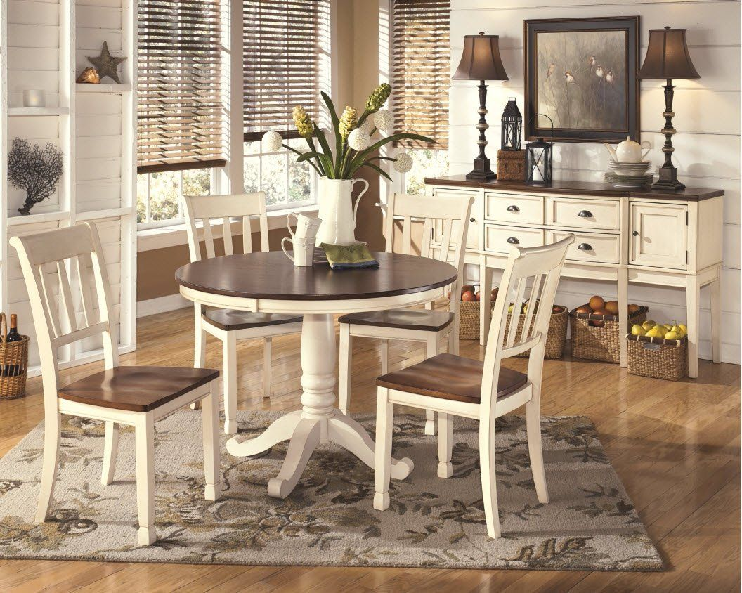 Ashley Furniture Signature Design Whitesburg Dining Room Side Chair Set Vintage Casual Of 2 Two Tone Details Can Be Found By Clicking On The Image