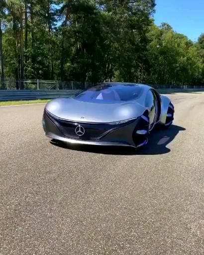 Mercedes Vision ATVR Concept car.🤩👌🔥💯