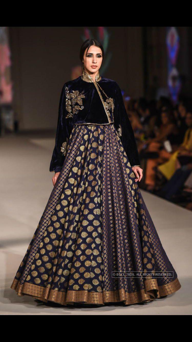 dress - Fashion Indian designer rohit bal bridal wear video