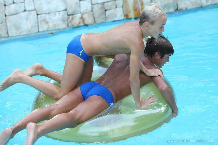 pool Teen boys at