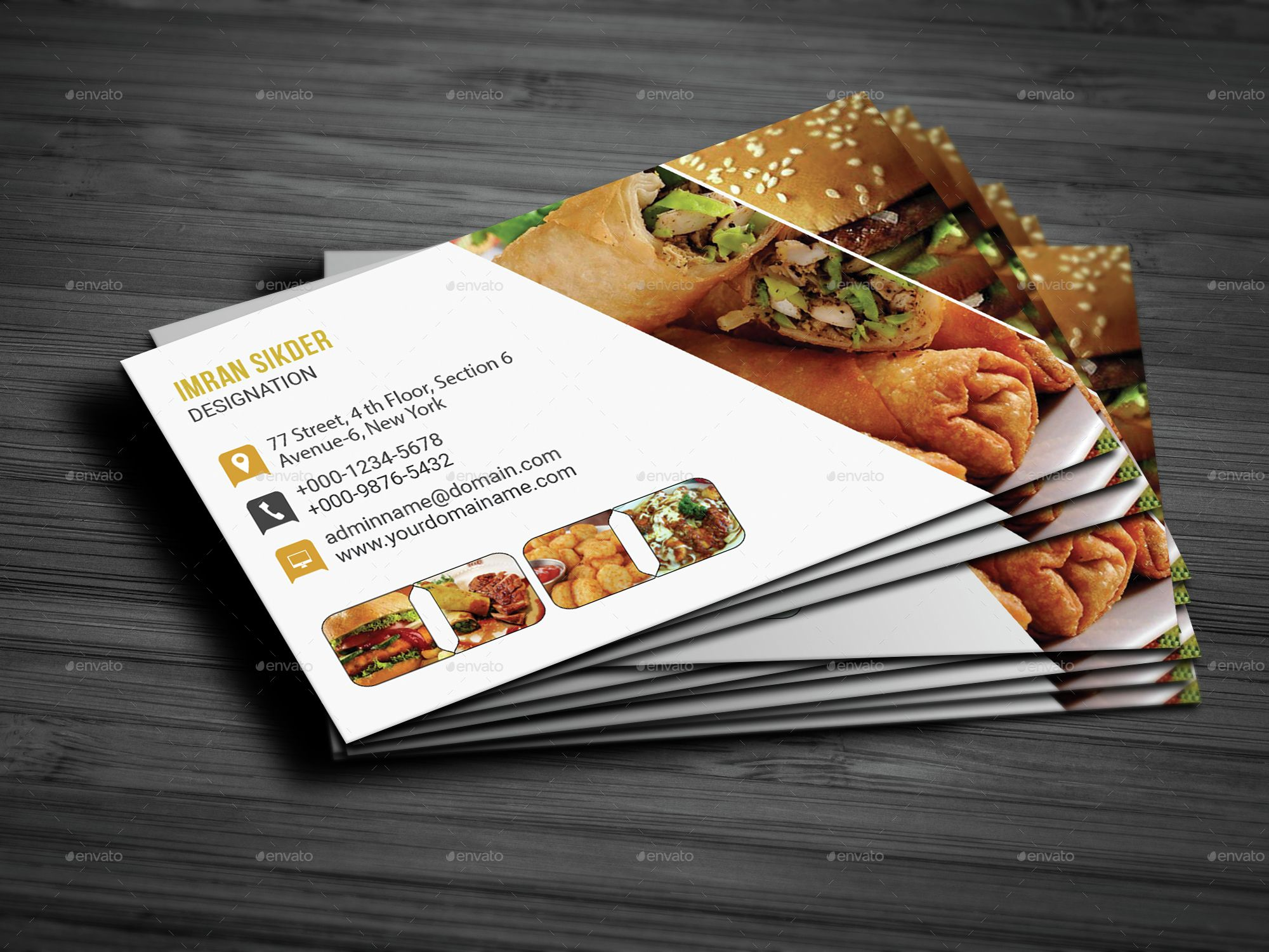 The Marvellous Restaurant Business Card In Restaurant Business Cards Templates Free Restaurant Business Cards Free Business Card Templates Card Templates Free