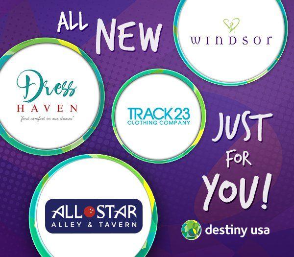 What's New at Destiny USA - Destiny USA