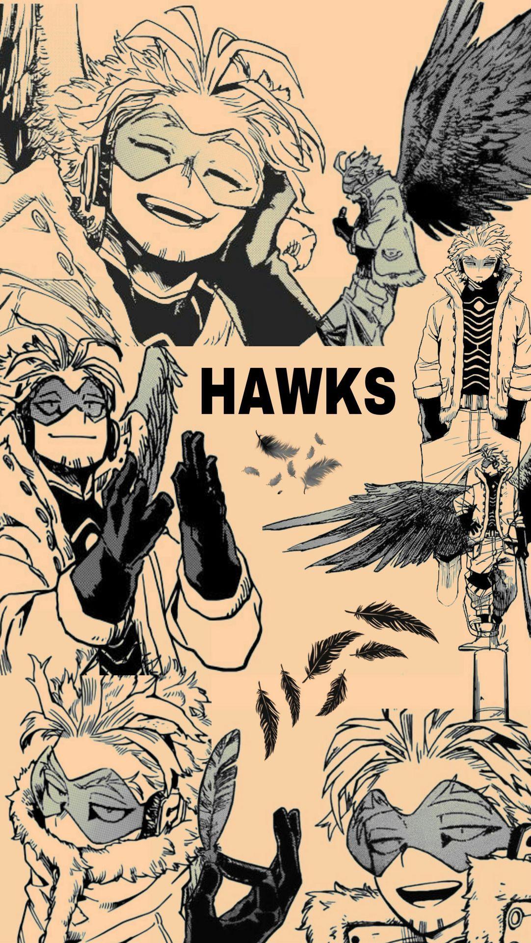 Headcanon's Do Pro-Hero Hawks. [Keigo Takami] - 📷Wallpaper