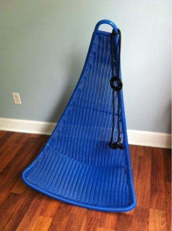 New Ikea Blue Hanging Chair