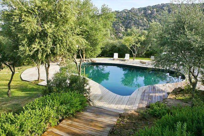 Estilo rustico piscinas rusticas piscinas pinterest for Piscinas rusticas