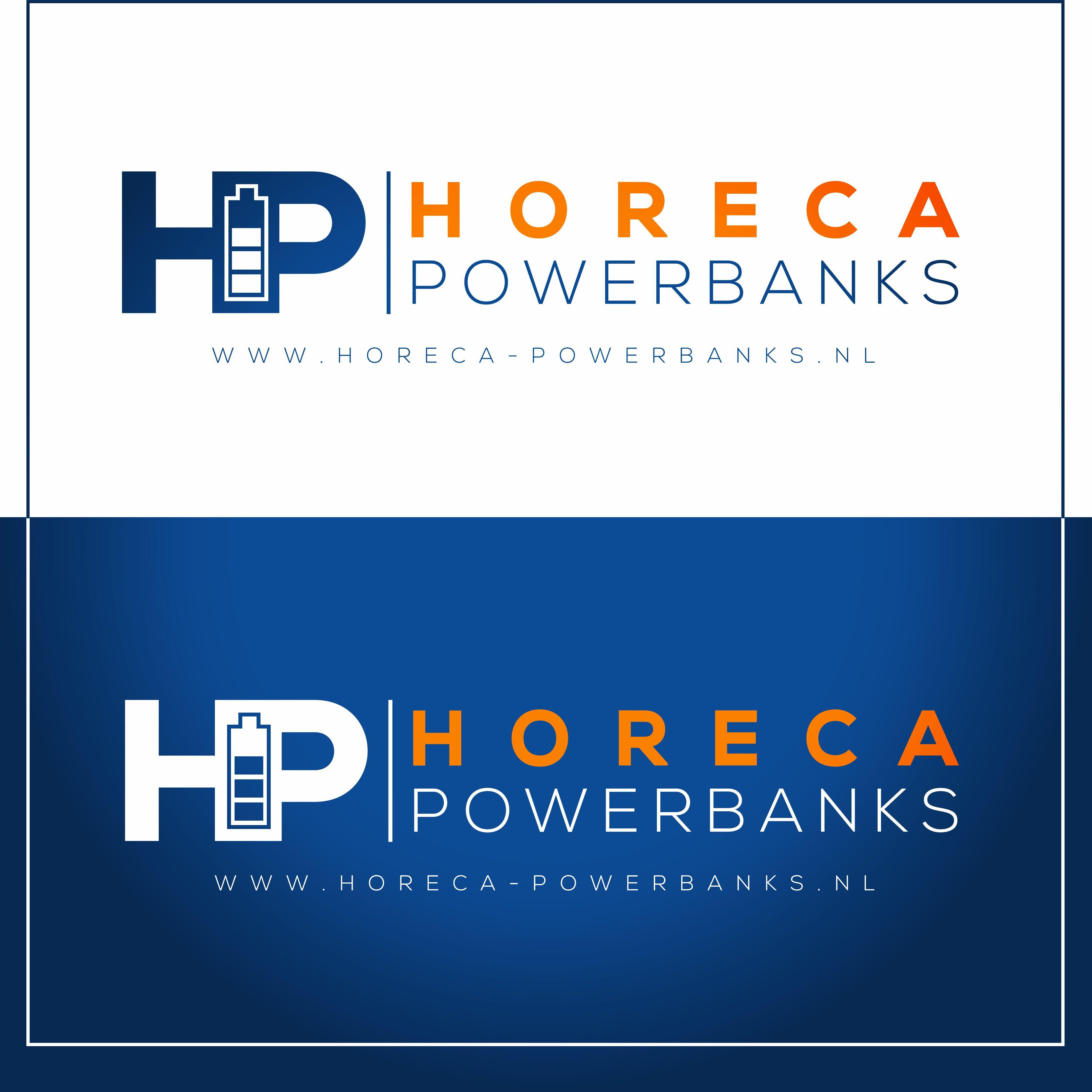 Logo ontwerp voor horeca Powerbanks www omega-design nl