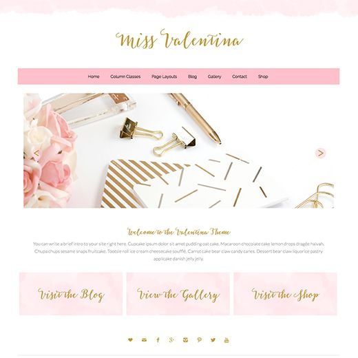 Valentina Premium Wordpress Theme Wordpress Themes