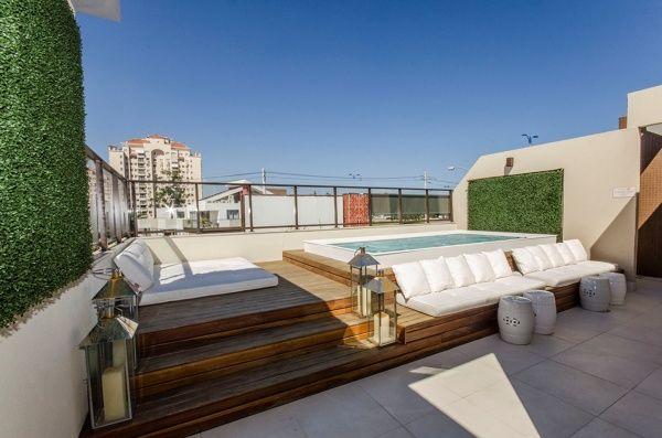Fotografía di terrazzo con piscina publicata da manuela occhetti