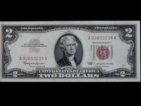 1 Are Your 2 Bills Worth Anything Clip From The Two Dollar Bill Documentary Youtube One Million Dollar Bill Two Dollars Twenty Dollar Bill