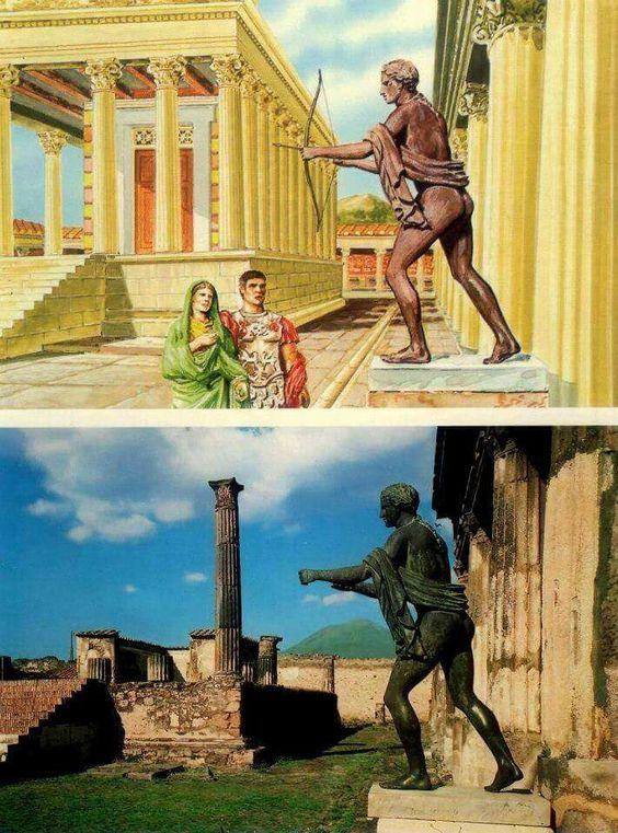 Apolo en Pompeya