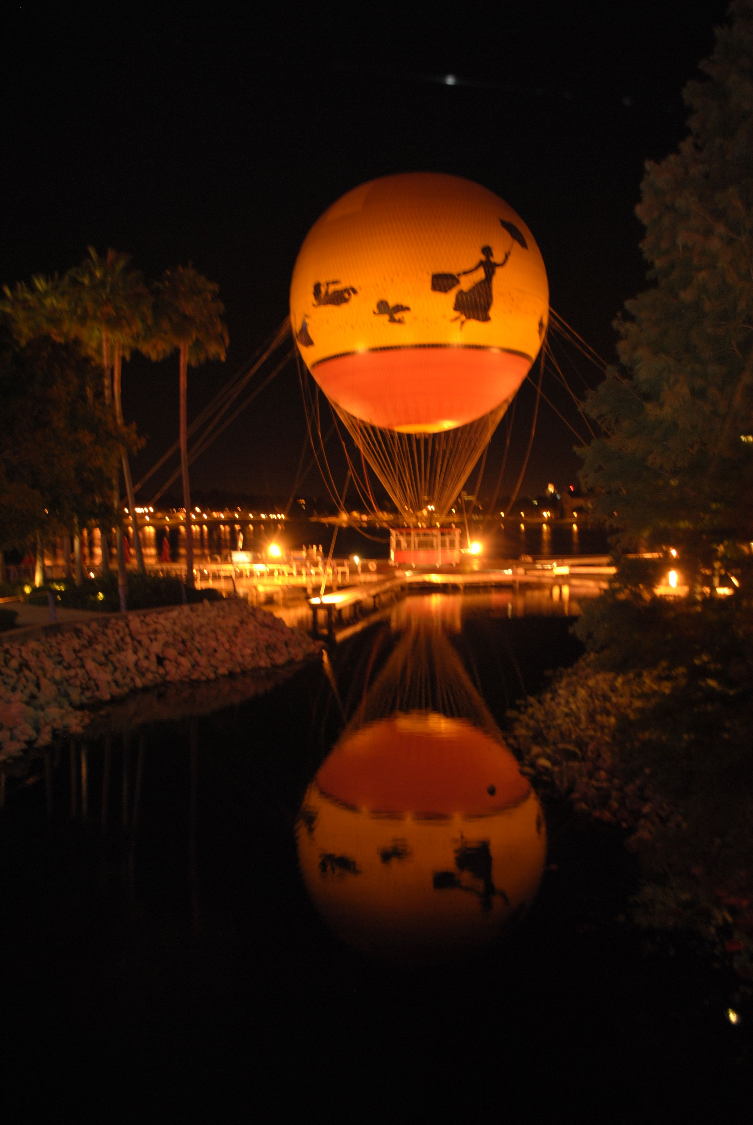 Bucket list To ride the hot air balloon over Disney at