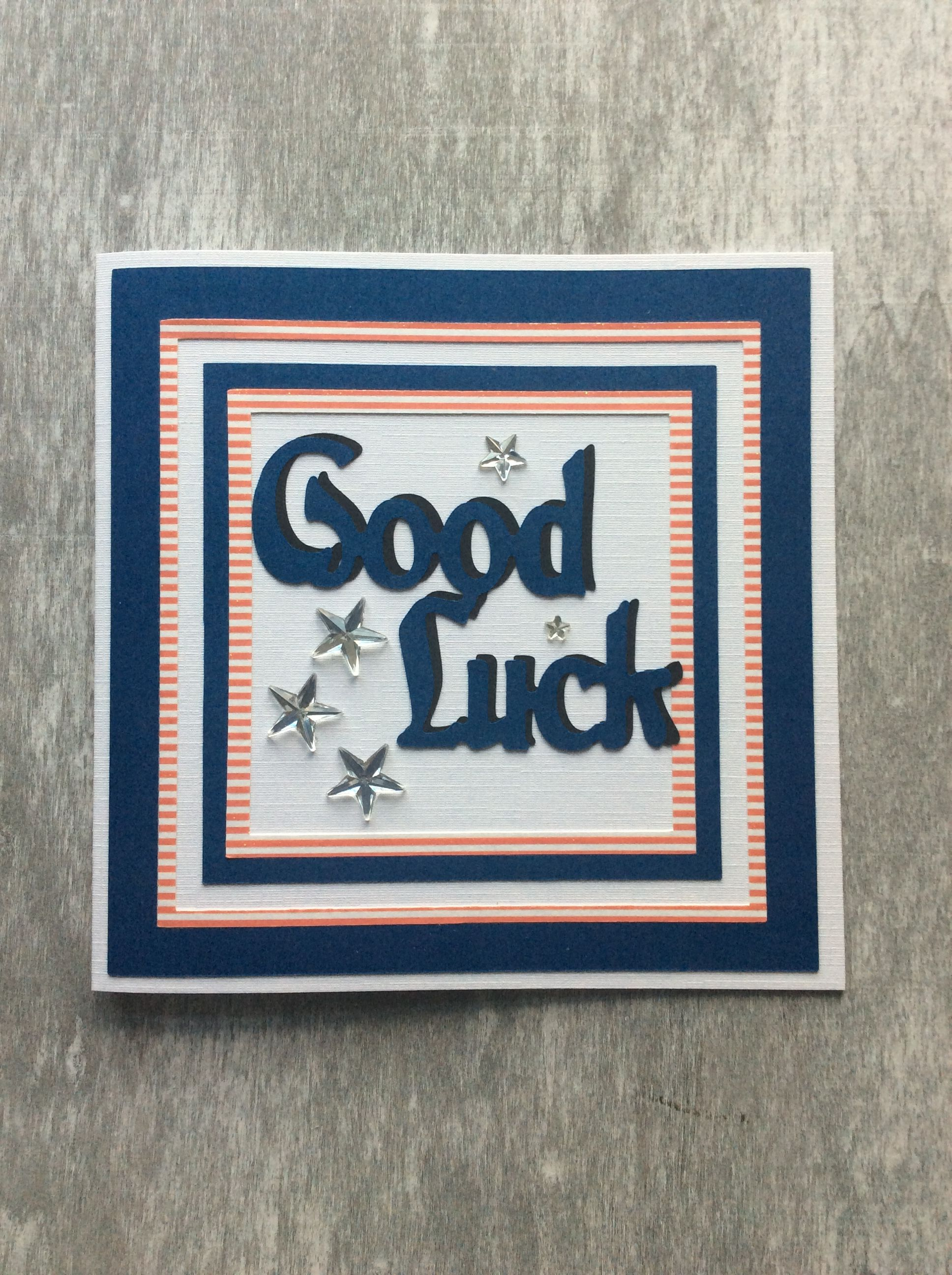 good luck cards etsy