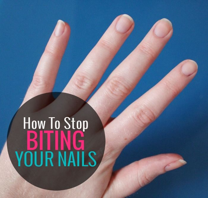 HOW TO STOP BITING YOUR NAILS | Nail products, Nail stuff and Body care