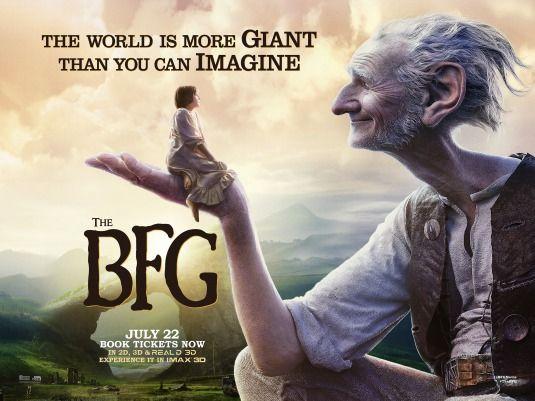 The Bfg Movie Poster 3 Of 4 Bfg Movie Bfg English Movies