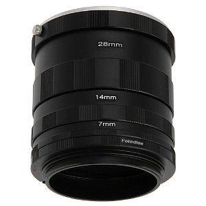 Fotodiox Canon Eos Macro Extension Tube Set Kit For Extreme Close Up Mirrorless Camera Nikon Macro Extreme Close Up
