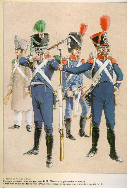 Fanteria leggera francese dal 1804 al 1815