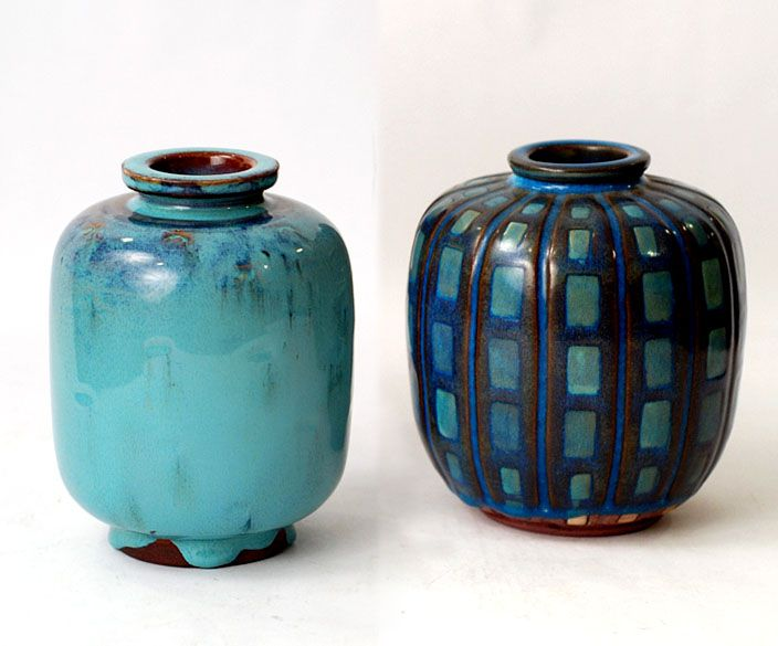 Freeforms Wilhelm Kage For Gustavsberg Pottery Art Pottery Painting Scandinavian Ceramic