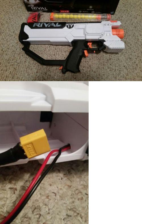 Dart Guns and Soft Darts 158749: Nerf Rival Hera Mxvii-1200 Custom Modified  Li