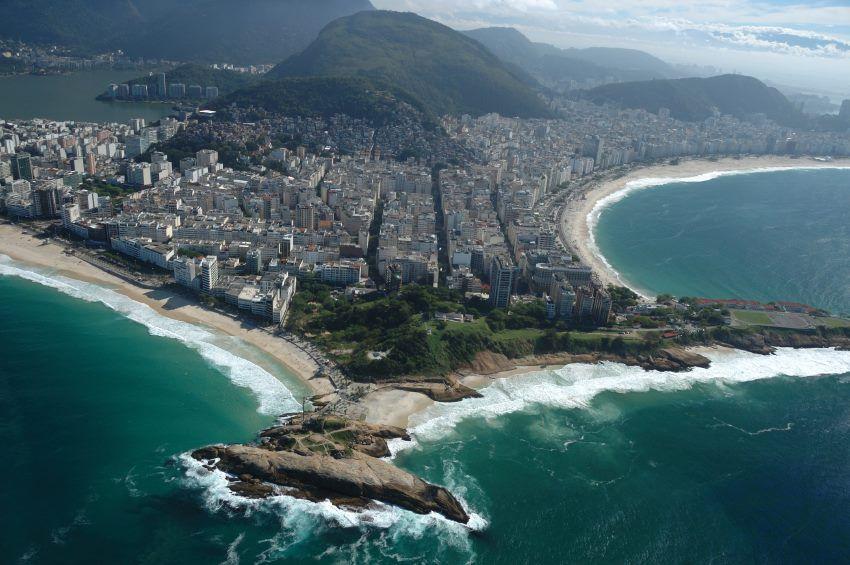 Arpoador e Praia do Diabo  entre Ipanema e Copacabana