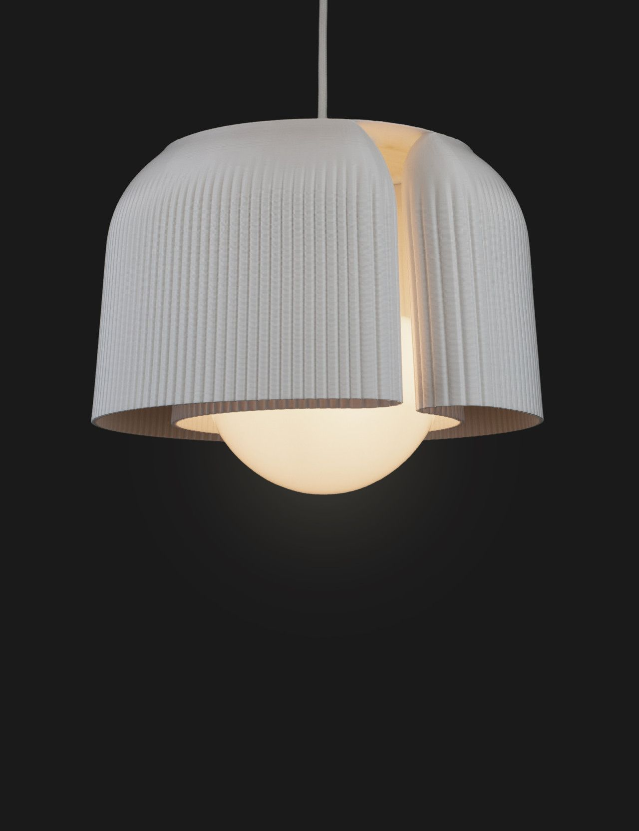 Plumen X Batch Works 3d Printed Lampshades Glow With Potential Glass And Aluminium Metal Lamp Lampshades