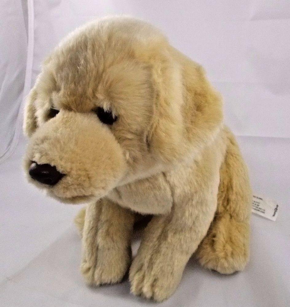 Toys R Us Golden Retriever Dog Puppy Plush 9 Toysrus Retriever