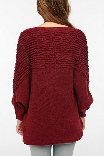 Staring at Stars Textured Oversized Dolman Sweater
