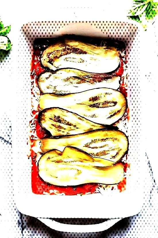Lighter Eggplant Parmesan (No Frying, No Breadcrumbs!) - SkinnytasteYou can find Eggplant parmesan