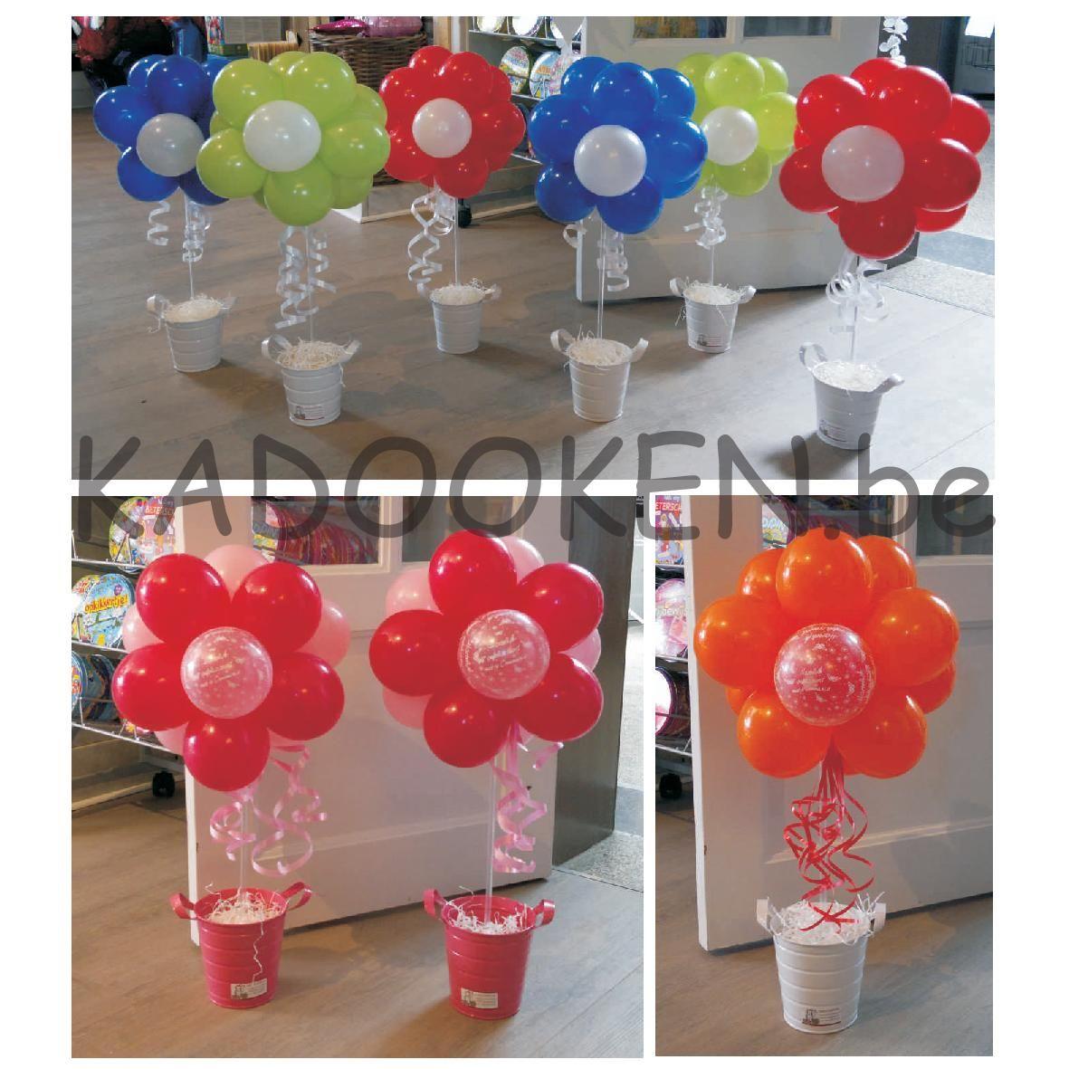 ballon decoratie zelf maken