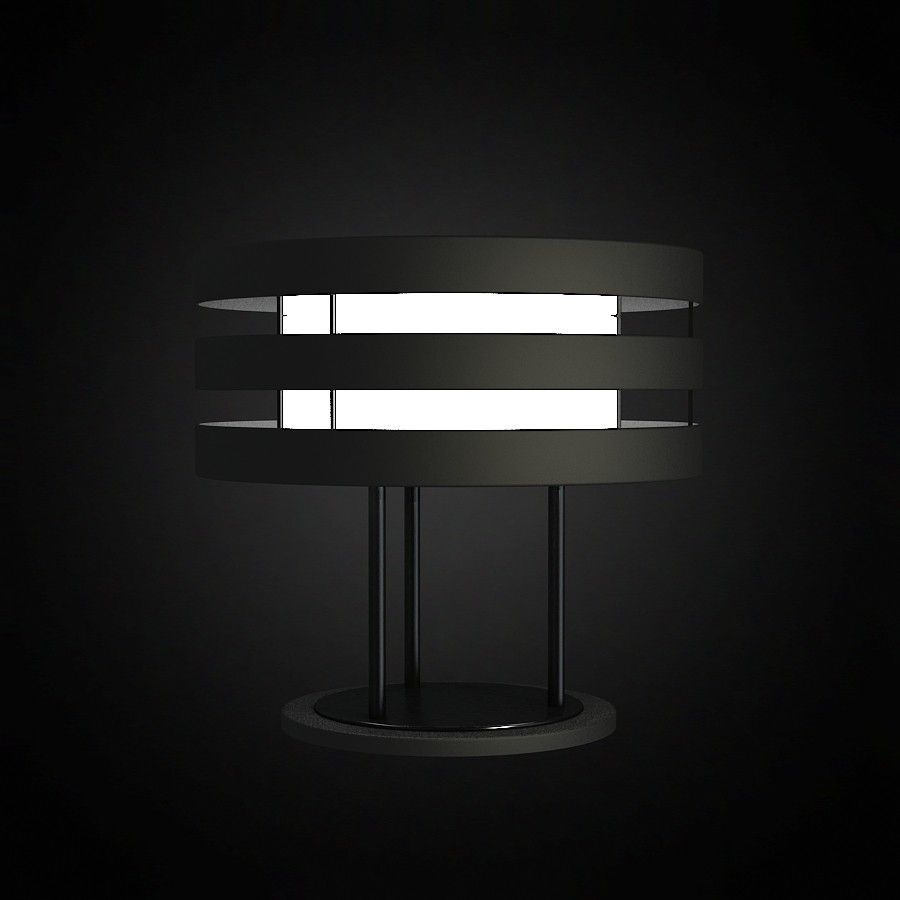 Table Lamp by 3D furniture model Use