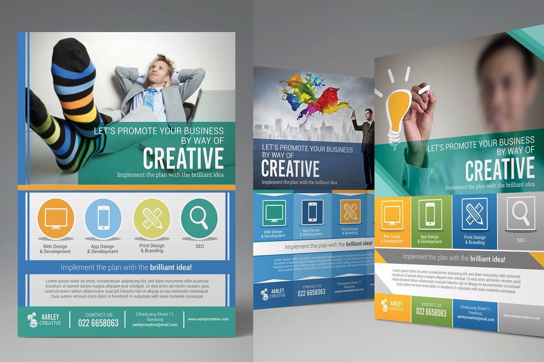 Creative Design Agency Flyers By Aarleykaiven On Creative Design