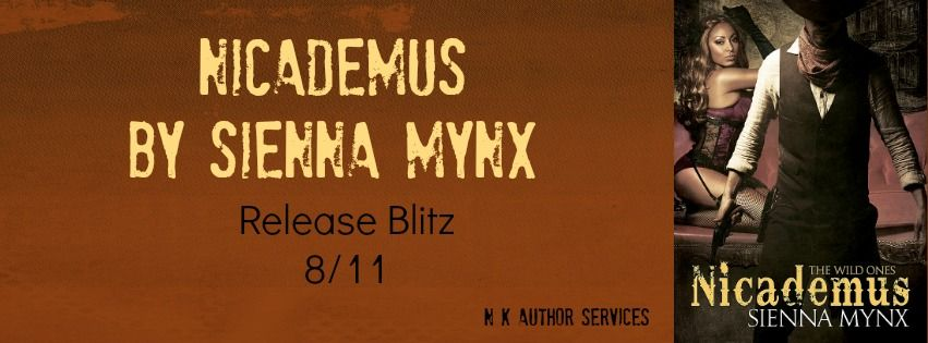 Ends Aug 12, 2014 Nicademus: The Wild Ones by Sienna Mynx http://www.rafflecopter.com/rafl/display/01111d66138/ two $25 Amazon gift cards