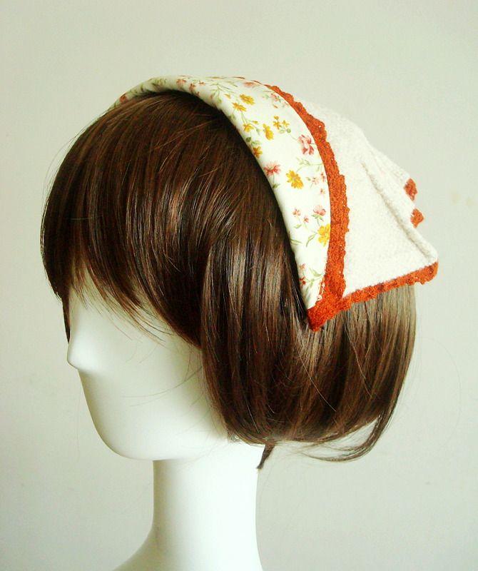 39 yuan small vintage mori girl hat :)