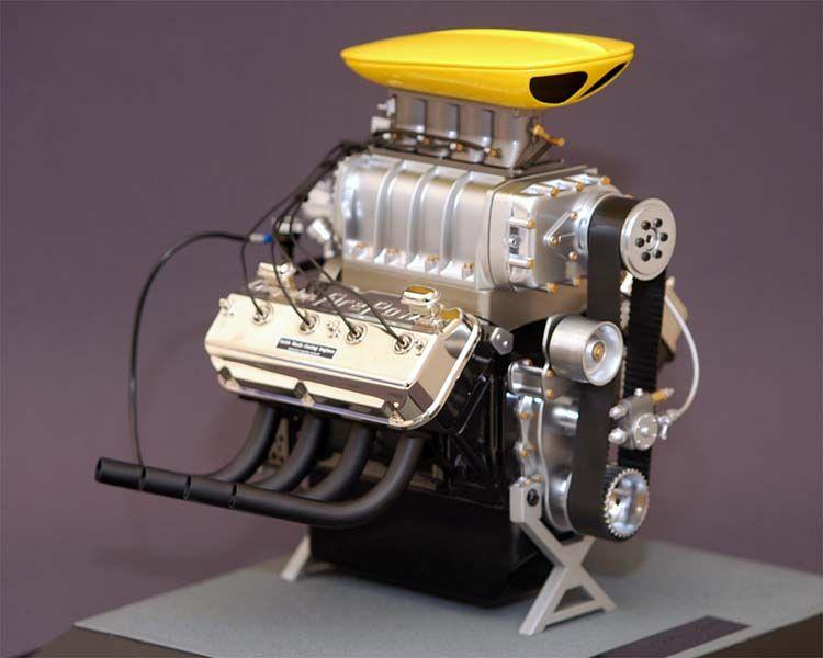 GMP 1:6 Chrysler Racing Engine- Keith Black - Diecast Zone