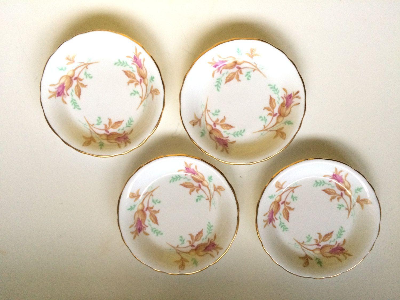 Vintage set of 4 of china butter patstrinket dishes royal vintage reviewsmspy