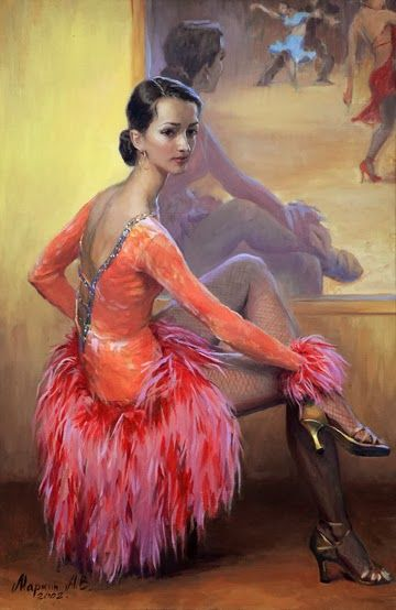 Russian artist Andrei Markin | Портрет женщины ...