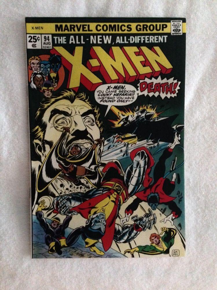 X Men 94 1st Appearance Of New X Men Wolverine Etc Comics Comicbooks Bronzeagecomics X Men Comic Books Comics For Sale