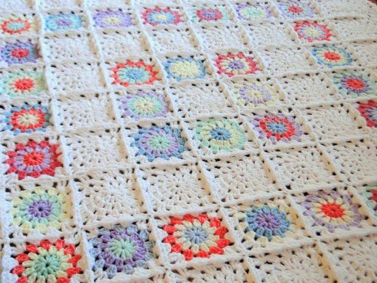 Crochet Lap Blanket Patterns Squares Baby Blanket Lap