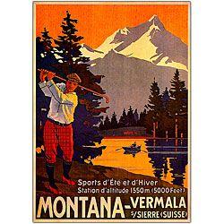 'Montana' Canvas Art $29.49 18 in. W x 24 in. L x 1.5 in. D