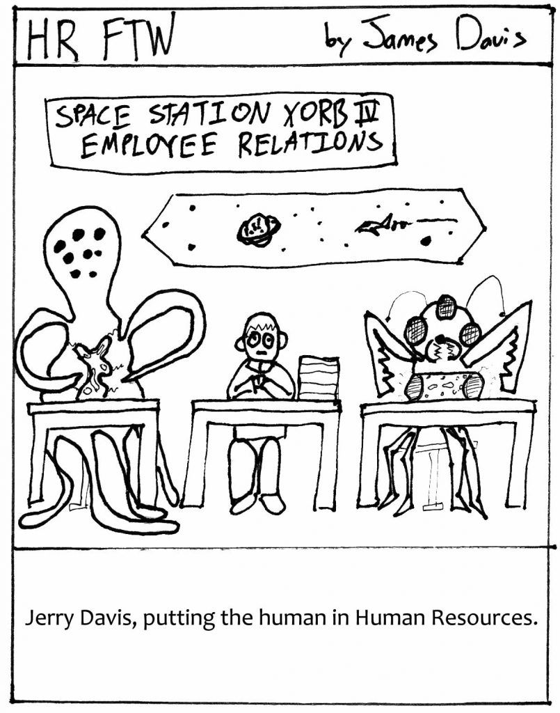 Friday Funday: HR FTW Comic Strip by James Davis #fridayfunday
