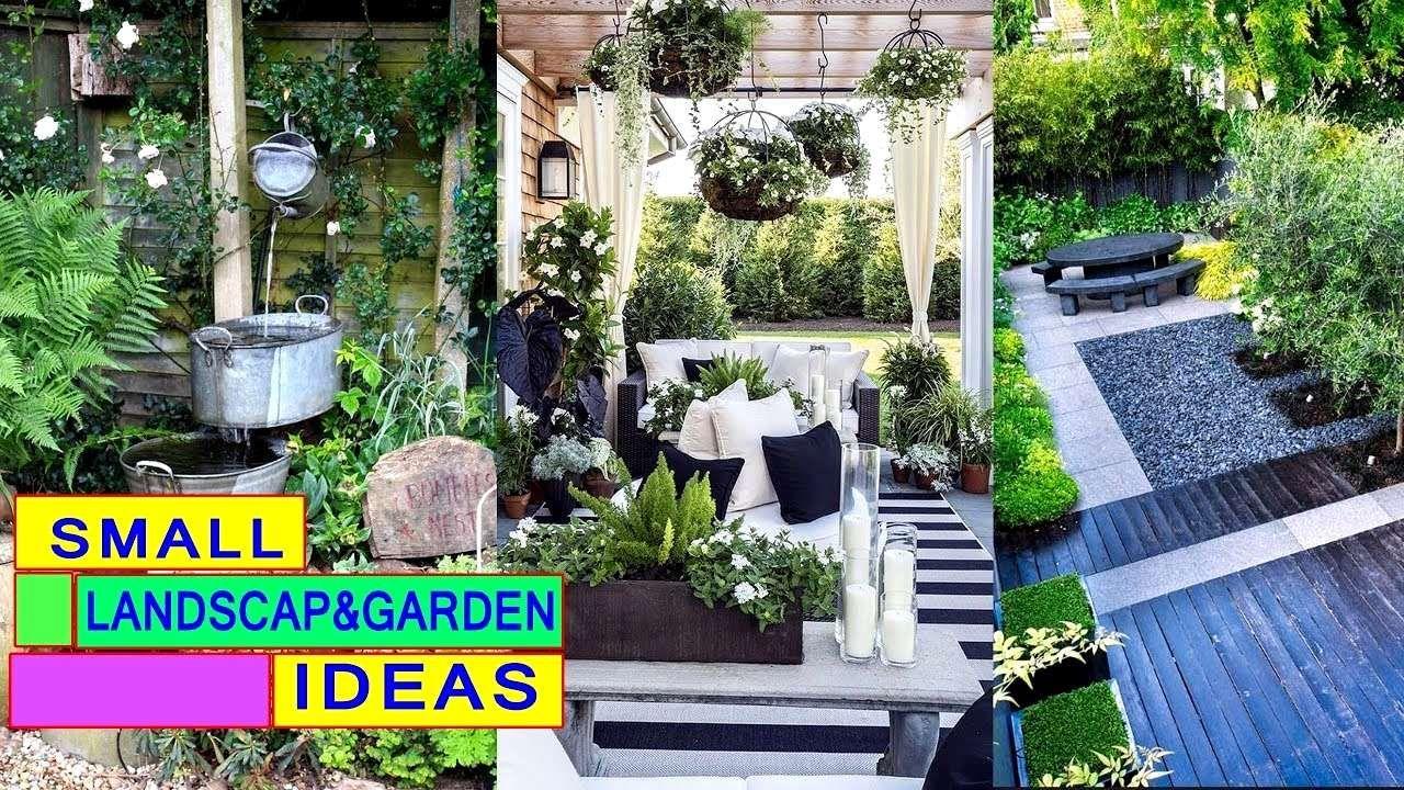 10 Garden Ideas For A Small Yard Simphome Small Garden Landscape Small Yard Landscaping Small Backyard Gardens