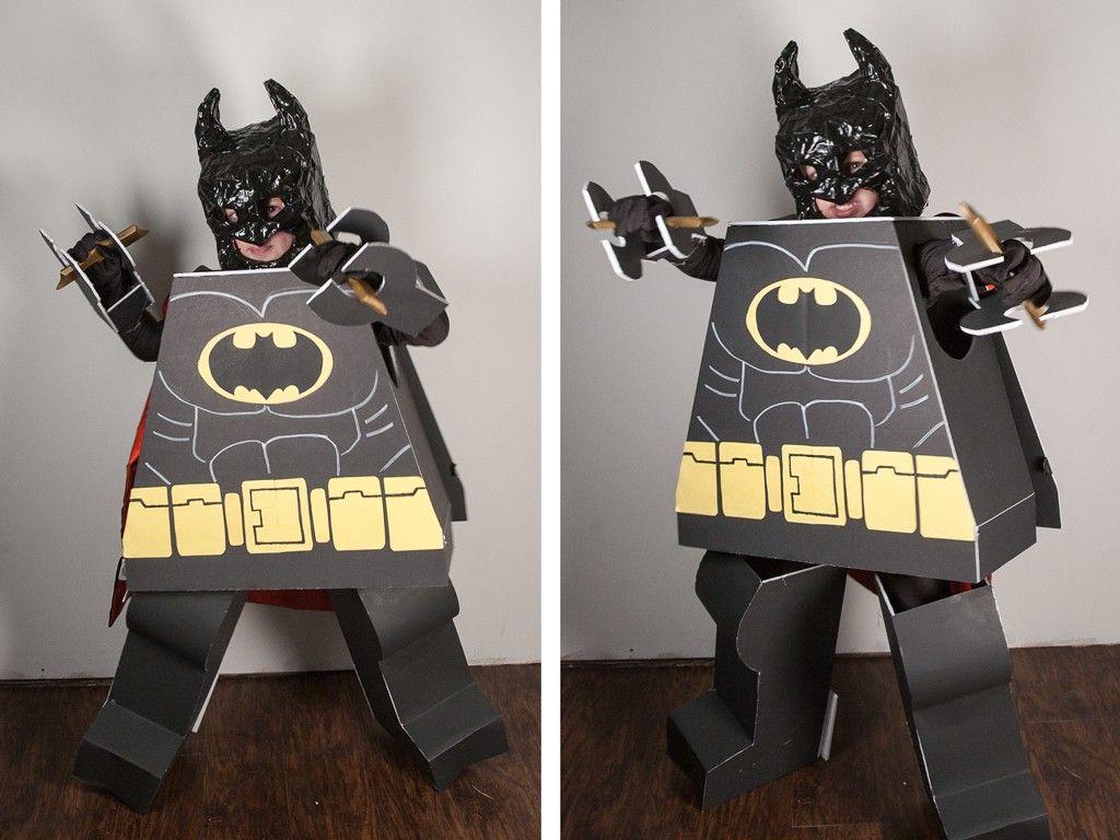DIY Lego Batman Costume Lego costume, Batman, Lego batman