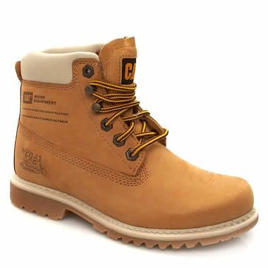 1fadb9f59da4 Caterpillar Moody Caterpillar Moody offers a rugged boot for women in  natural honey colour. Based