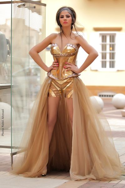Wonder Woman Bridesmaid Dress