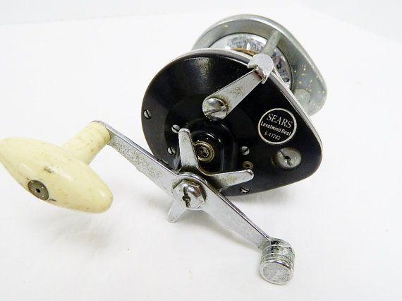 Vintage Sears Levelwind Reel Bait Caster Trolling by BeyondLeafToo