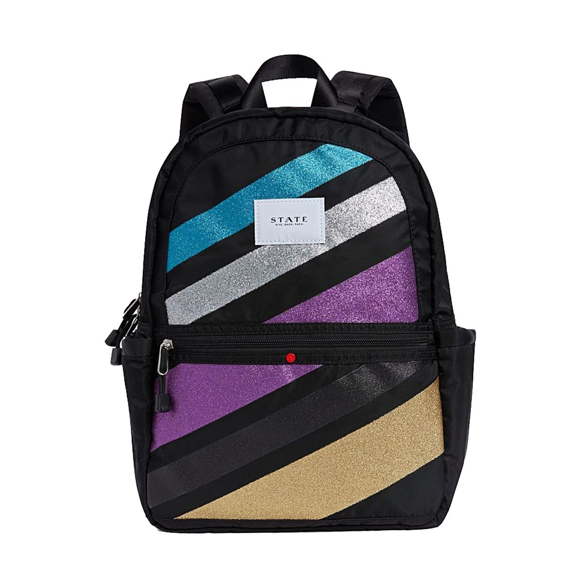 STATE Bags – The Kane Backpack – Glitter Stripe