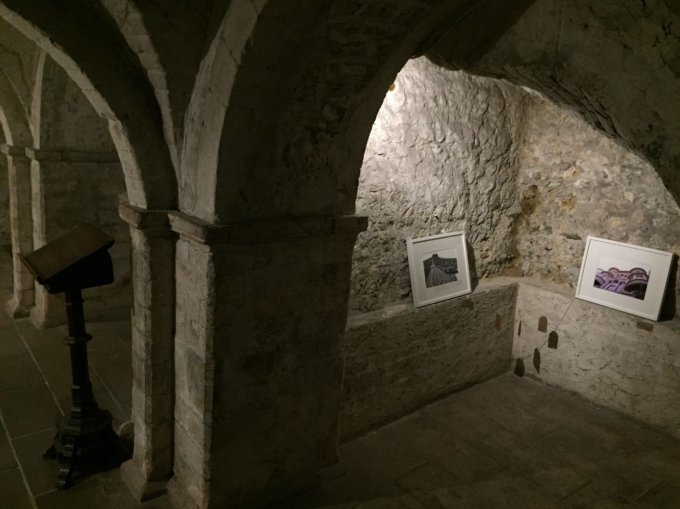 Conversing in the Crypt exhibition on now in Canterbury ... www.beechater.wordpress.com for more info