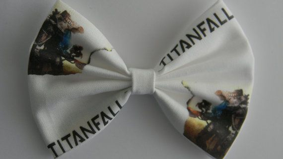 TitanFall Inspired Classic Hair Bow by PigtailsnCurls on Etsy
